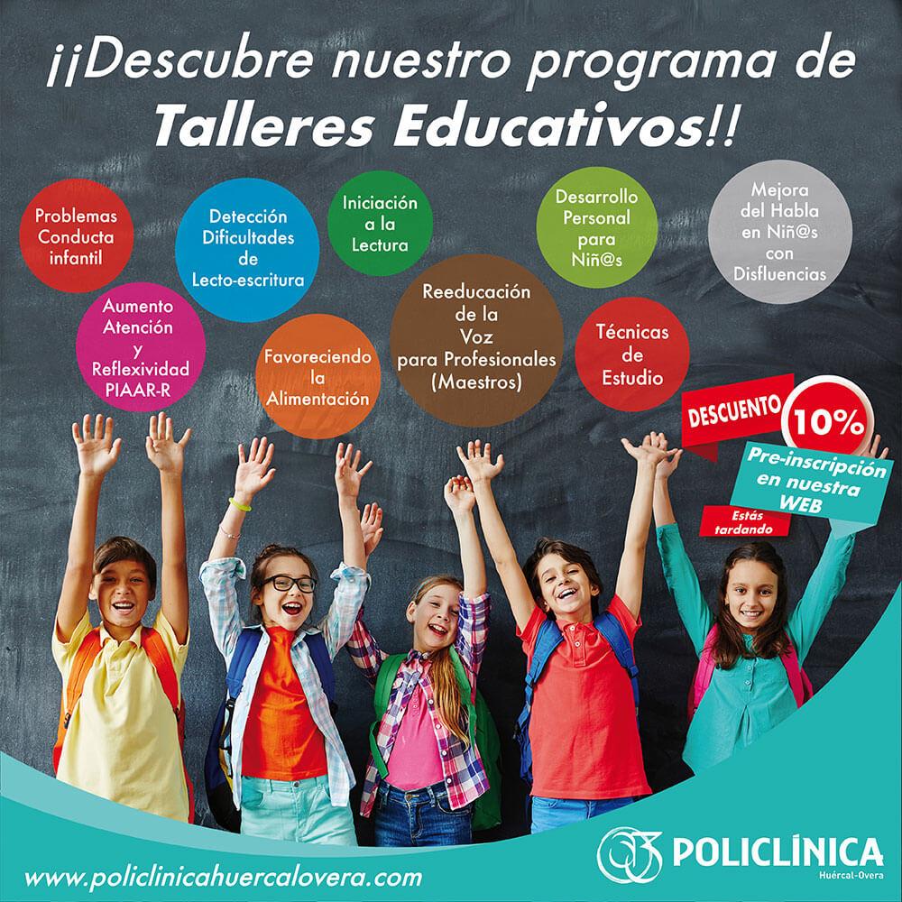 Programa de talleres educativos