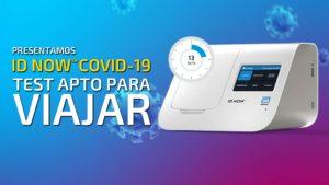 PCR y test COVID requerido para viajar estas vacaciones